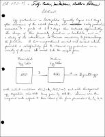 A General Theory of Egg Production