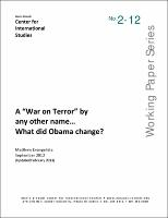A War On Terror By Any Other Name What Did Obama Change